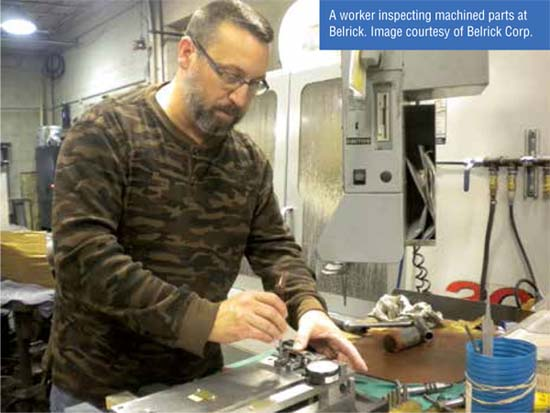 Sub-Machined Parts-Achieving Comfort with Suppliers (Belrick Corp