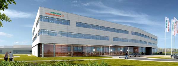 Siemens broke ground on a major expansion of a key Siemens Healthineers manufacturing and R&D facility for laboratory diagnostics in Walpole, Mass.