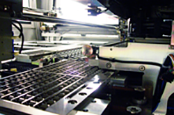 Macrotron Systems focuses much of its efforts on automating assembly processes to speed production and to lower the cost for customer. The automation process also allows companies to audit the technology to insure process quality contro.